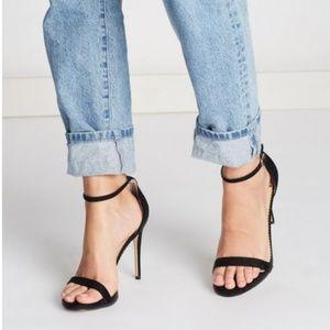🆕Sam Edelman High Heels Sandals Black Suede
